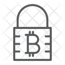 Bitcoin Encryption Cryptocurrency Icon
