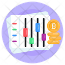 Bitcoin Equalizer Icon