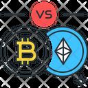 Bitcoin Ethereum Bitcoin Trading Icon