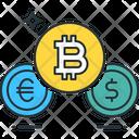 Bitcoin Exchange Bitcoin Dollor Icon
