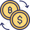 Bitcoin Exchange Bitcoin Coins Icon