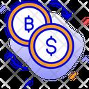 Bitcoin Exchange Bitcoin Coins Icon
