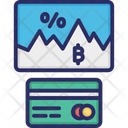 Bitcoin Exchange Rate Bitcoin Transaction Credit Card Icon