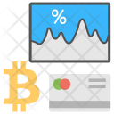 Bitcoin Exchange Rate Icon