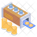 Mining Factory Bitcoin Industry Bitcoin Factory Icon