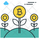 Bitcoin farm Icon