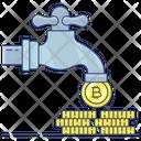 Bitcoin Faucet Icon