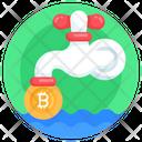 Bitcoin Flow Money Flow Btc Faucet Icon