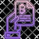 Bitcoin File Icon