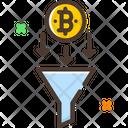 Bitcoin Filter Icon