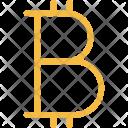 Bitcoin Finance Marketing Icon