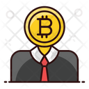 Bitcoin Financer Bitcoin Capitalist Bitcoin Manager Icon