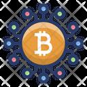 Bitcoin Financial Network Icon