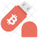 Flash Drive Storing Icon