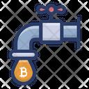 Bitcoin Flow Icon