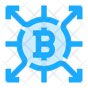 Bitcoin Cryptocurrency Affiliate Icon