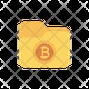 Folder Bitcoin Directory Icon