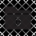 Folder Files Bitcoin Icon