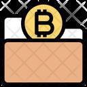 Bitcoin Folder Bitcoin Finance Icon