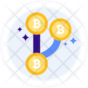 Fork Bitcoin Fork Cryptocurrency Icon