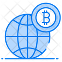 Bitcoin Future Cryptocurrency Market Bitcoin World Icon