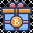 Bitcoin Gift Icon