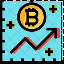 Bitcoin Graph Bitcoin Growth Graph Bitcoin Icon