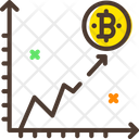 Bitcoin Graph Icon