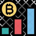Bitcoin Graph Graph Chart Icon