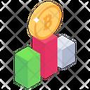 Bitcoin Graph Dynamic Bitcoin Bitcoin Growth Icon
