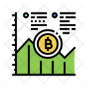 Bitcoin Graph Growth Bitcoin Icon