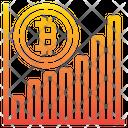 Bitcoin Graph Graph Bank Icon
