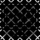 Bitcoin Graph Icon
