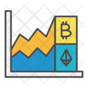 Cryptocurrency Growth Chart Icon