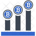 Profit Growth Bitcoin Icon