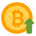 Bitcoin Growth Bitcoin Growth Icon