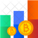 Bitcoin Growth Cryptocurrency Graph Dynamic Bitcoin Icon