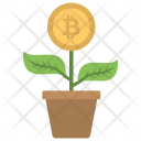 Watering Growth Investment Icon