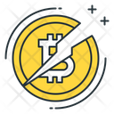 Bitcoin halving Icon