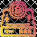 Bitcoin Harddrive Icon