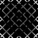 Bitcoin Heart Icon