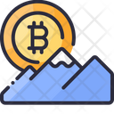 All Time High Bitcoin Hill Icon