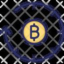 Bitcoin History Blockchain History History Of Altcoins Icon