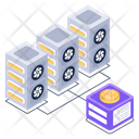 Bitcoin Hosting Icon