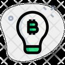 Bitcoin Idea Icon