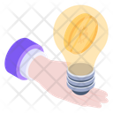 Bitcoin Innovation Bitcoin Idea Blockchain Idea Icon
