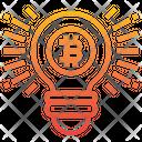 Bitcoin Idea Bitcoin Idea Icon