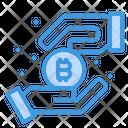 Bitcoin Income Icon