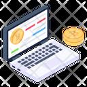 Blockchain Information Bitcoin Information Crypto Information Icon