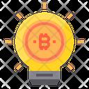 Inovation Money Bitcoin Cryptocurrency Bitcoin Innovation Icon